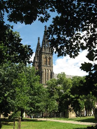Hotel Vysehrad: church of saint Peter and Paul