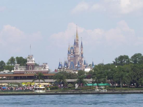Orlando, Floride : Cinderellas Castle Magic Kingdom