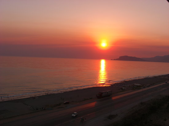 Alanya, Turkey: Sunset