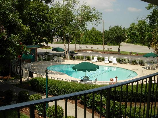Days Inn Mount Pleasant-Charleston-Patriots Point: Garden with nice pool.