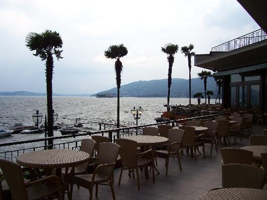 Grand Hotel Dino: Balcony off Dining Area
