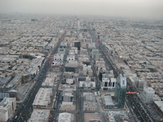 Riyadh, Arabie Saoudite : View from Kingdom towards Faisaliyah