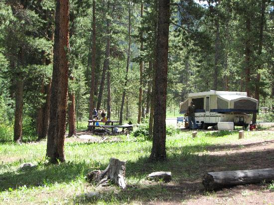 Lottis Creek Campground: Camp spot #21 - The BEST spot!