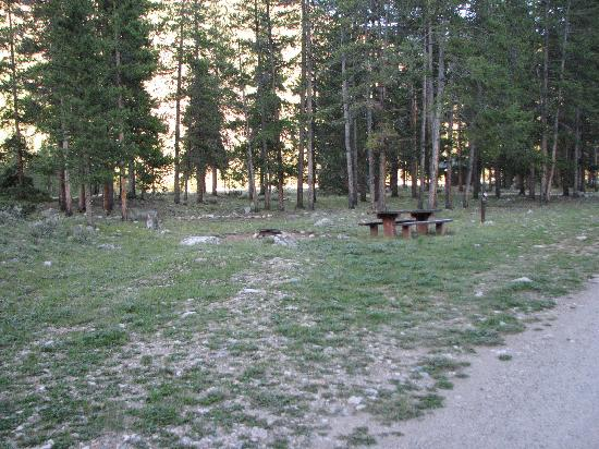 Lottis Creek Campground : Camp spot #26