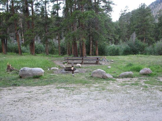 Lottis Creek Campground : Camp spot #27
