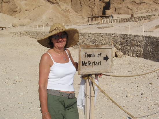Nefertari S Tomb My Favourite Egyptian Queen Picture Of Luxor Nile River Valley Tripadvisor