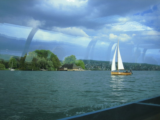 Zürich, Sveits: Lake Zurich