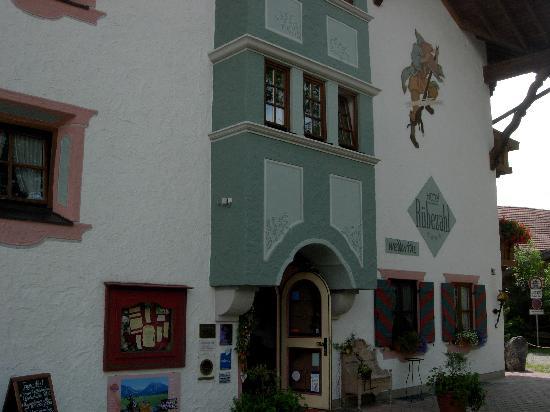 Hotel Das Rübezahl: entree de l hôtel