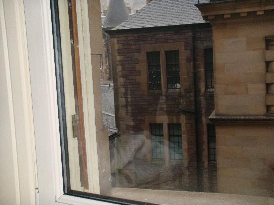 The Scotsman Hotel: room view