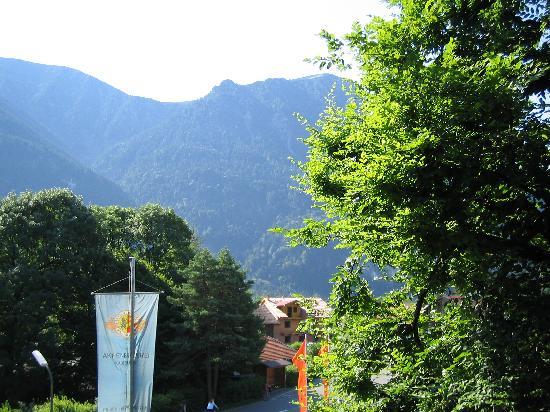 Hotel Forsthaus : Blick vom Balkon