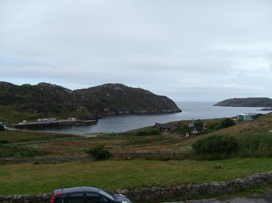 Kinlochbervie Hotel: view from room 14