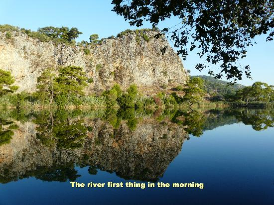 Aydos Club: The river first thing in the morning