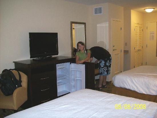 Holiday Inn Statesboro University Area: Built-in fridge