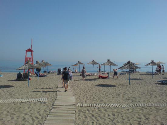 Santa Marina: Plage de l'Hotel