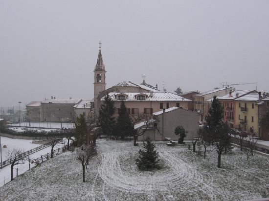 San Rocco di Piegara, Italy: winter view