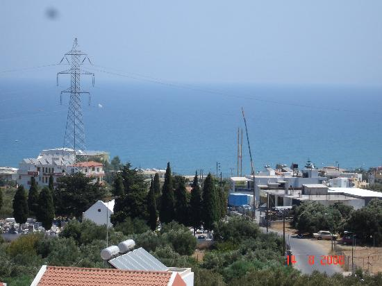 Romantica Apartments: View From Our Balcony