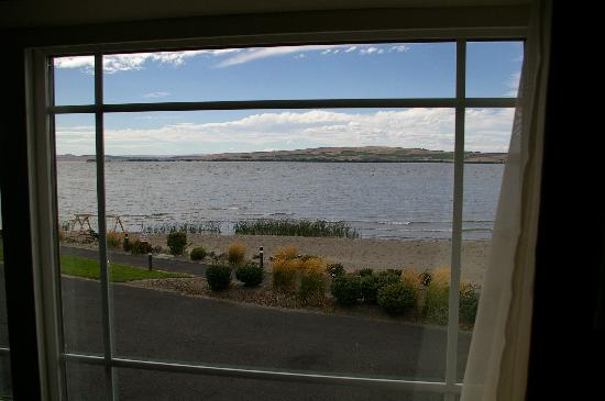 Boardman, OR: View of the river from our room