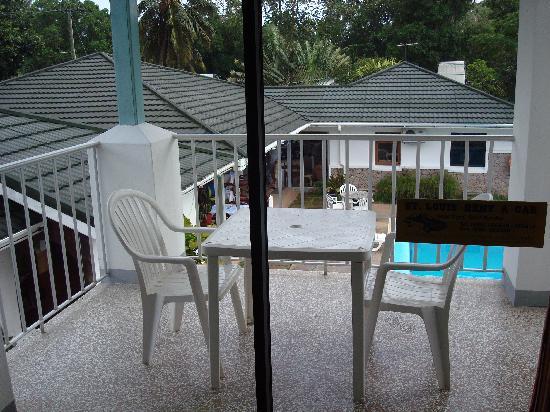 Sun Resort: Terrasse