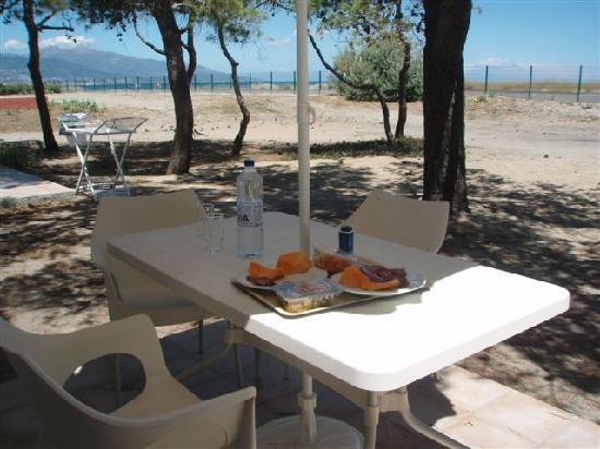 Belambra Clubs - Pineto : autre vue de la terrasse