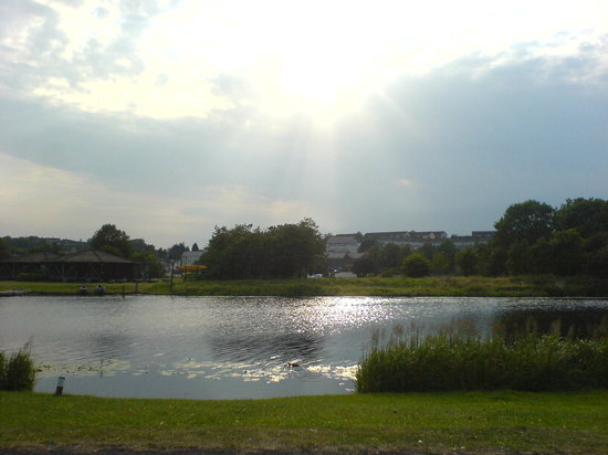 Enniskillen, UK: the broadmeadow