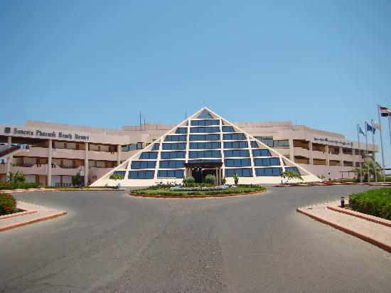 Sonesta Pharaoh Beach Resort Hurghada: entrada
