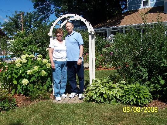 White Rose Inns : My bride and myself of 40 years