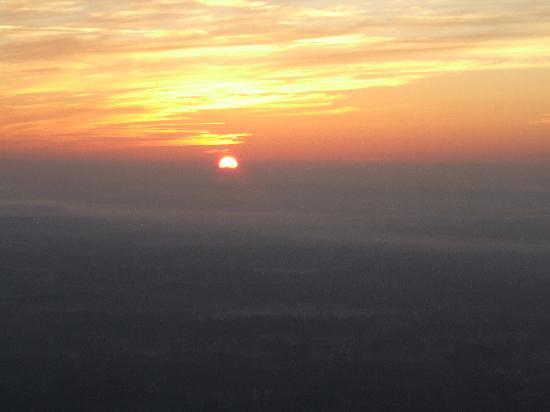 Orange Blossom Balloons: sunrise