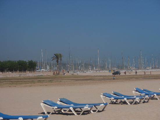Paramount Places Spain : Beach at Vilanova