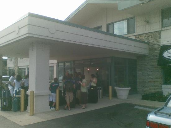 Chicago O'Hare Garden Hotel: Ingresso