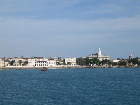 Stone Town, Tanzanie : view from the ferry