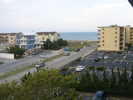 Econolodge Oceanblock: View from Balcony
