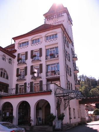 The Park-Garden Hotel at Mattenhof Resort: Mattenhof Entrance