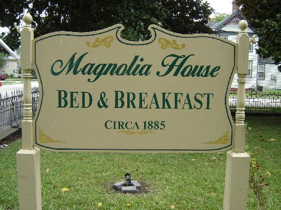 ‪‪Magnolia House Inn‬: Magnolia House Sign‬