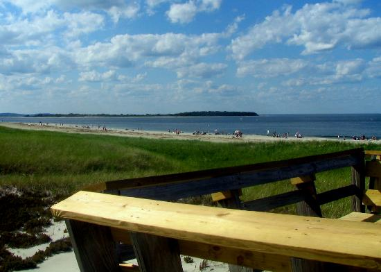 Crane Beach: View looking Northeast from the Boardwalk