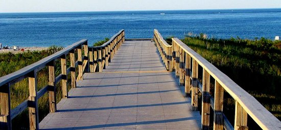 Ipswich, MA : Crane Beach Boardwalk