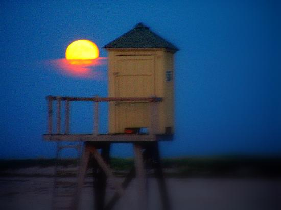 Crane Beach Moon Rise, September 2006