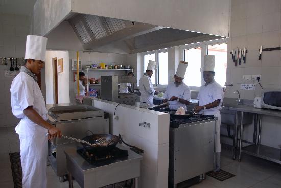 The Waterside Bentota: The Chefs working hard at the Waterside Restaurant, Bentota