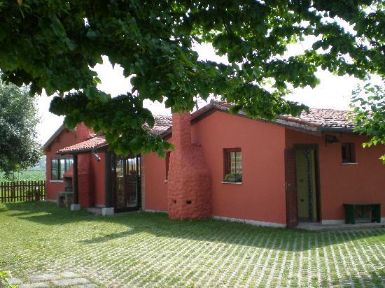 Monselice, Italy: saletta delle colazioni