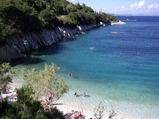 Ithaca, Hellas: kourvoulia beach