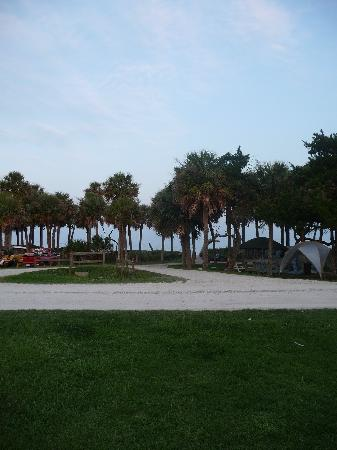 Edisto Island, SC: site de camping