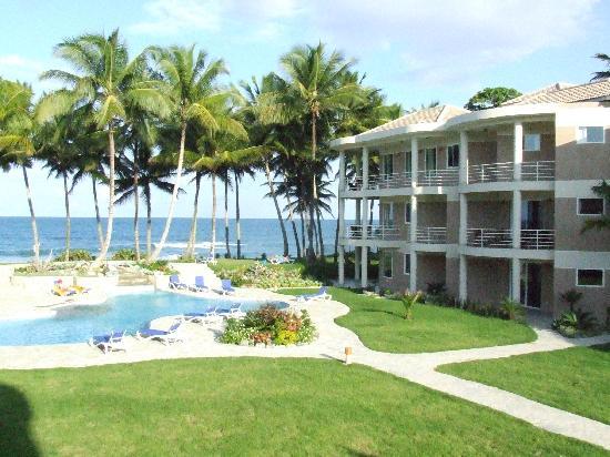 Cabarete East Beachfront Resort: View from balcony