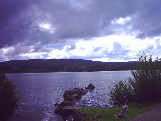 Harvey's Point: View of Lough Eske from hotel garden