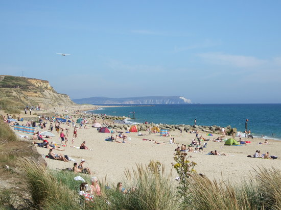 Hengistbury Head : Looking East in July 2008