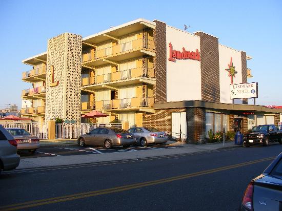 Landmark Motel: Vue du Motel