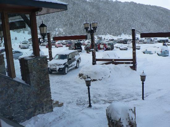 Grau Roig Andorra Boutique Hotel & Spa: nos cayo una buena nevada