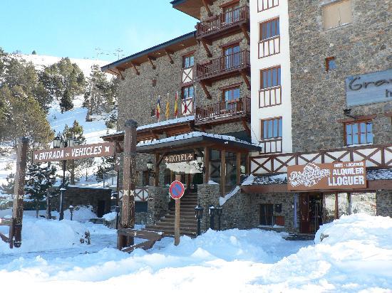Grau Roig Andorra Boutique Hotel & Spa: el hotel