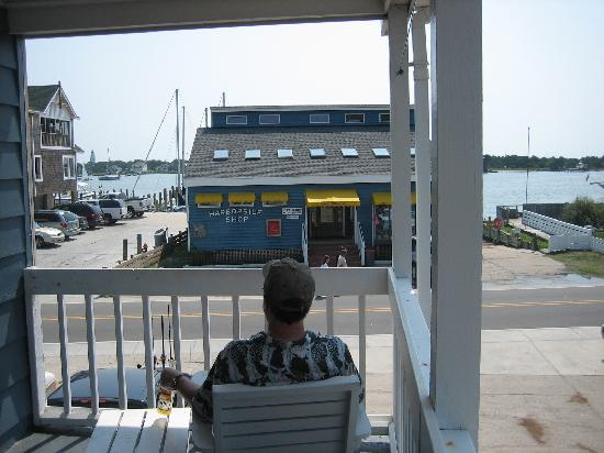 The Harborside Motel: View from the Harborside Porch