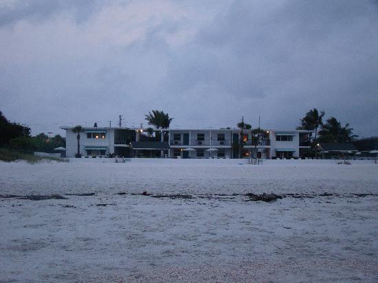 Bon Aire Resort Motel : Motel vom Strand aus gesehen