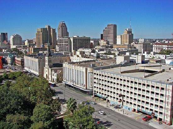 San Antonio Marriott Riverwalk: Balcony Day View