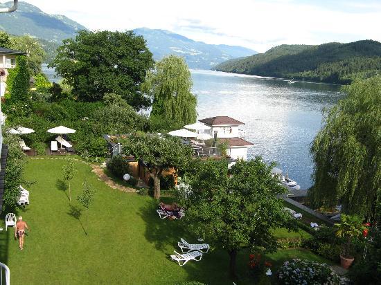 Seeboden, Oostenrijk: Ansicht vom Zimmer
